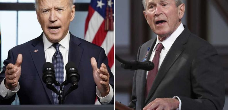 Biden called George W. Bush to discuss Afghanistan pullout