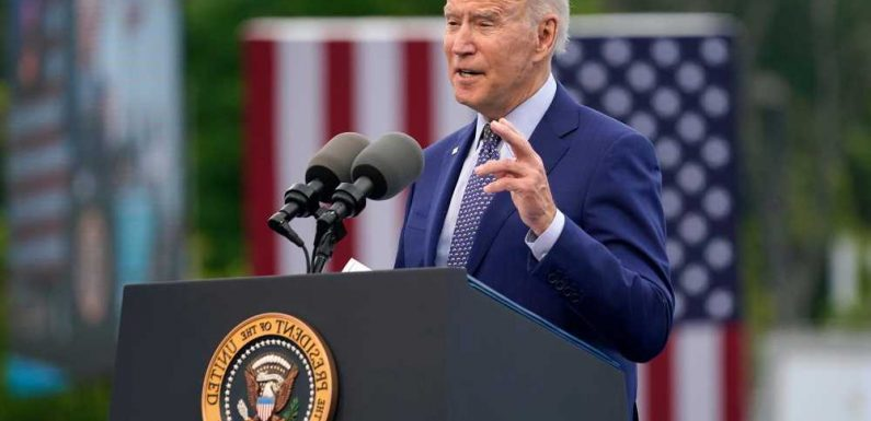 Biden credits $1.9T COVID relief bill passed last month for economic recovery
