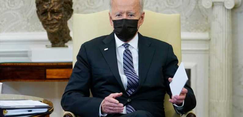 Biden meeting with second group of lawmakers to decide infrastructure package