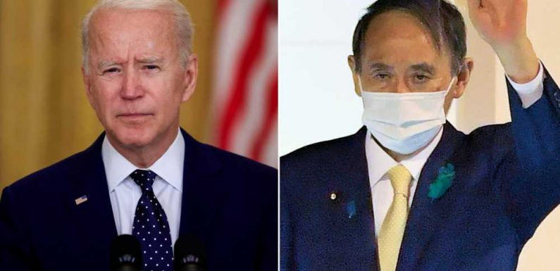 Biden to host Japanese prime minister for first in-person visit