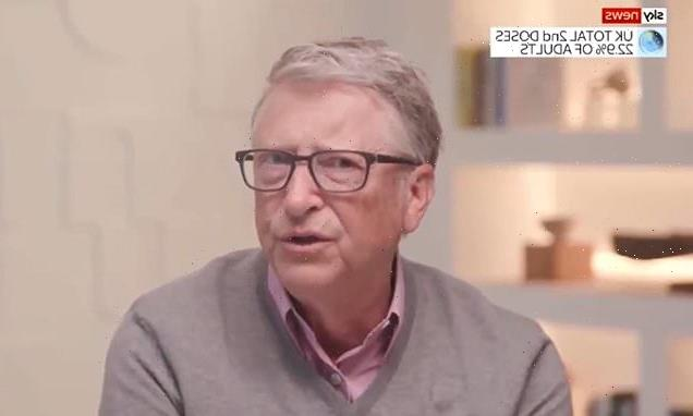 Bill Gates hopeful world will be 'normal' by end of next year