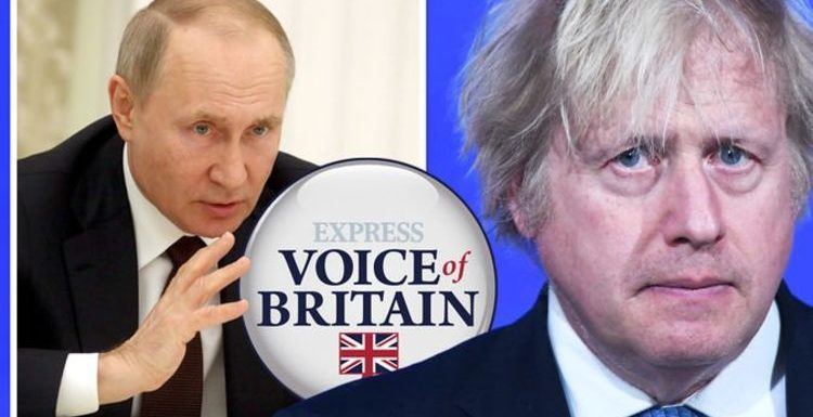 Boris urged NOT to intervene in Russia tensions as Putin sends 100,000 troops to border