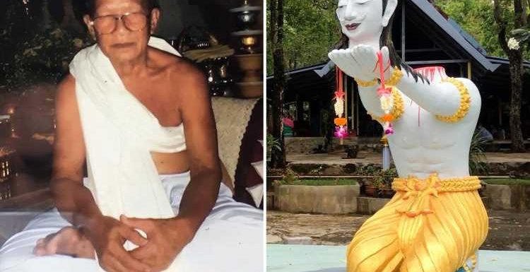 Buddhist monk 'decapitates HIMSELF with DIY guillotine hoping it will bring him good luck in the afterlife'