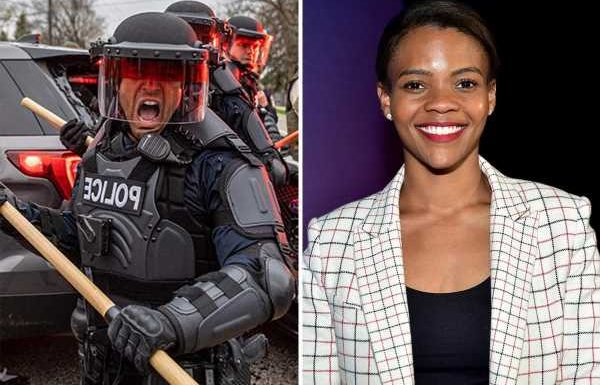 Candace Owens claims George Floyd died of drug overdose and blames Dems for 'black people rioting and looting'