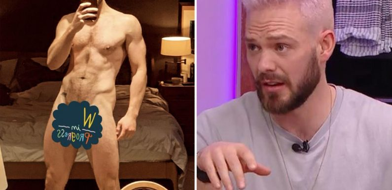 Celebrity chef John Whaite strips naked for sexy snap weeks after storming off Steph's Packed Lunch