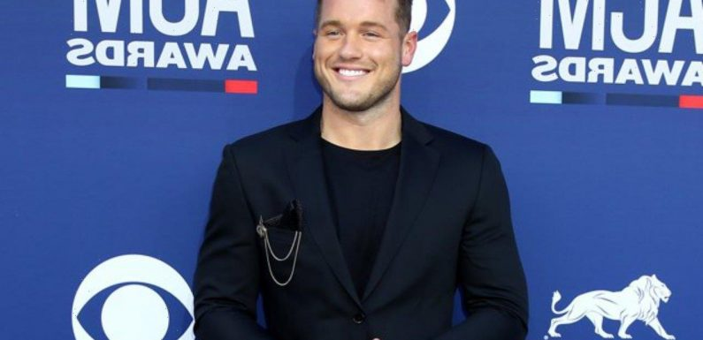 Colton Underwood All Smiles During Lunch Date With Mystery Man After Coming Out as Gay