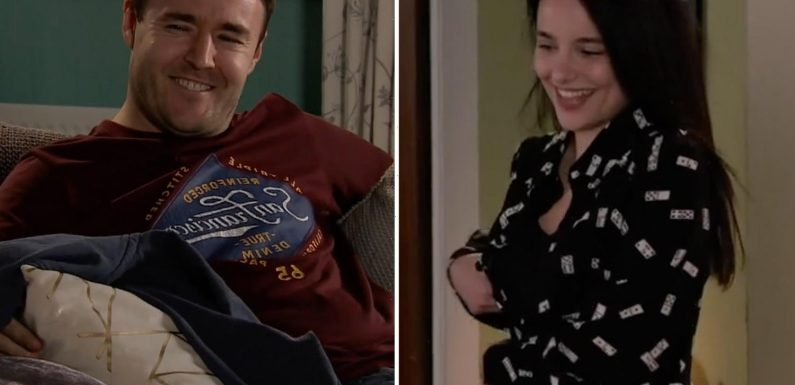 Coronation Street fans sickened as Tyrone Dobbs beds Alina Pop before returning home to Fiz