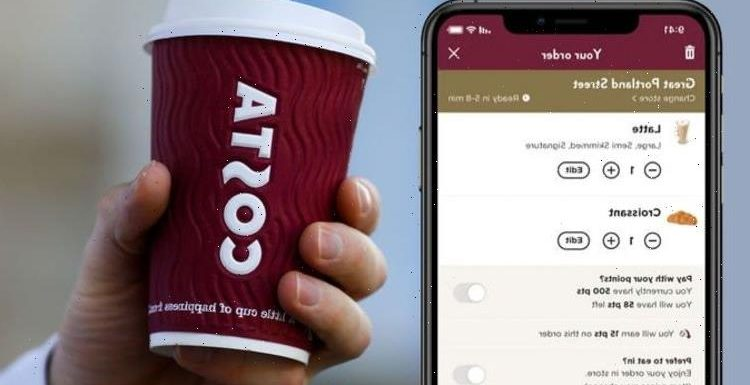 Costa app is dropping ALL hot drinks to 50p: how to claim yours before the deal expires