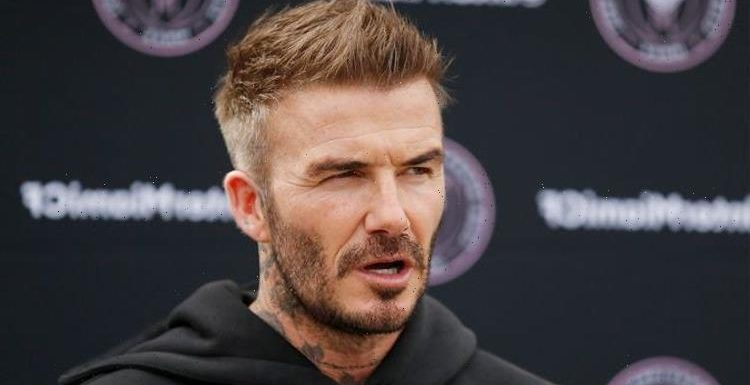 David Beckham 'mortified' after Prince Harry and Meghan Markle row 'got awkward'