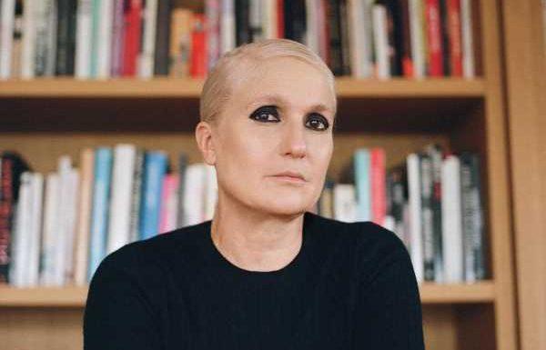 Dior's Maria Grazia Chiuri Raises Awareness Inside the Fashion System