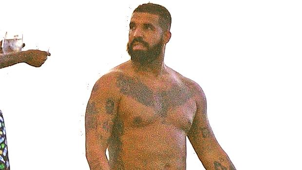 Drake Looks More Ripped Than Ever While Working Out Shirtless In The Gym — Video