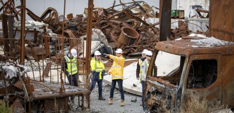 Dump clean-up to cost taxpayers $48 million after owners abandon their sites