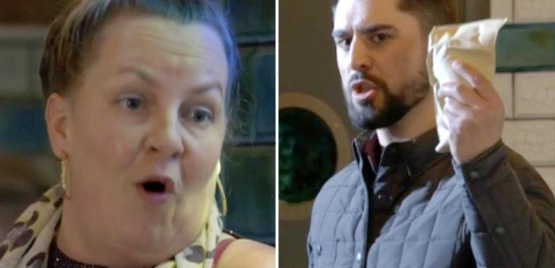 EastEnders fans cringe as Karen Taylor falsely accuses her boss of trying to sleep with her