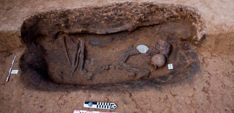 Egyptian archaeologists unearth 110 ancient tombs in Nile Delta