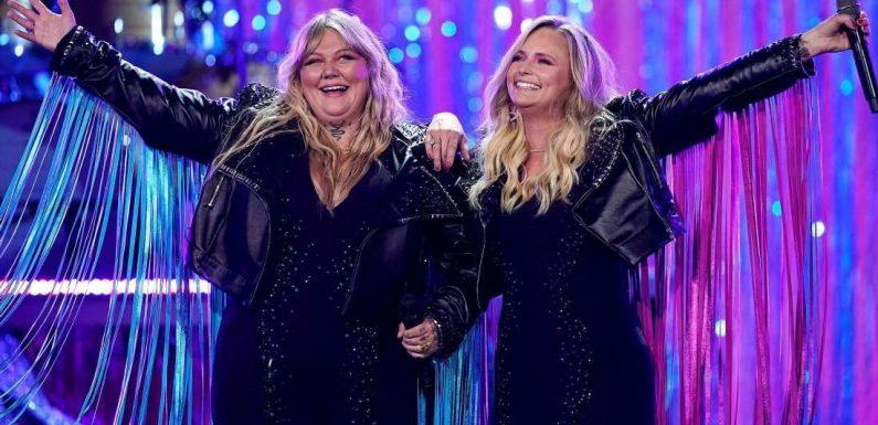 Elle King and Miranda Lambert Twin in Fringe Jackets at2021 ACMs: Pics