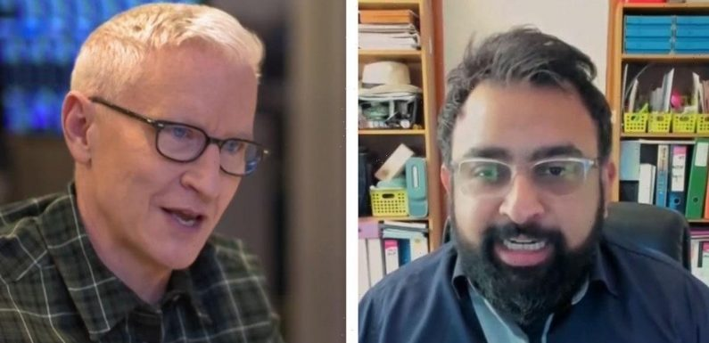 Ex-QAnon Believer Apologizes to Anderson Cooper, Thought He Ate Babies