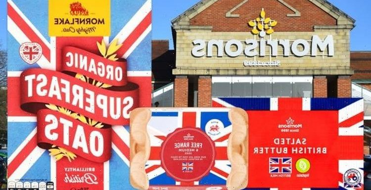 Express readers slam 'ridiculous' comments over Union Jack flag on Morrisons products