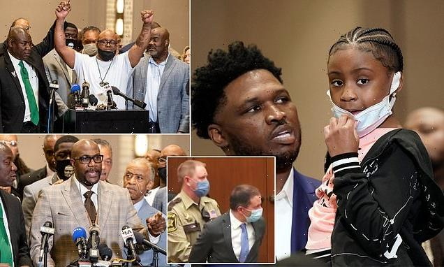 Family of George Floyd attend press conference