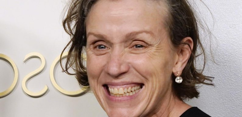 Frances McDormand's Body Language At The Oscars Speaks Volumes About Her