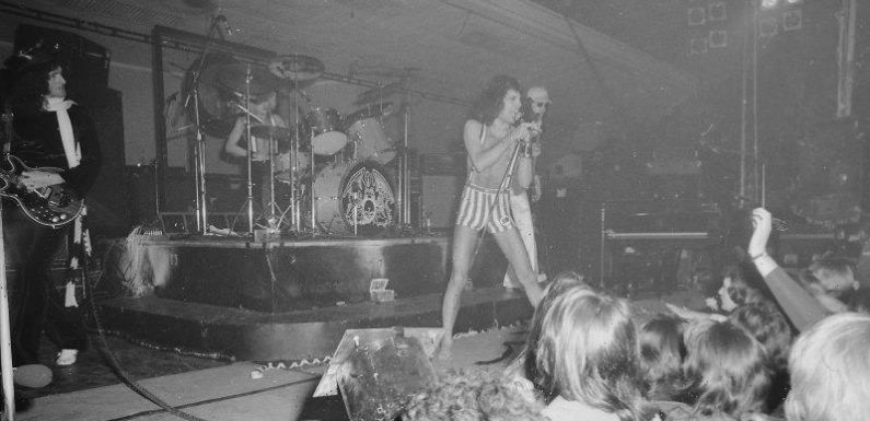 From the Archives, 1976: Explosive start to Queen's Festival Hall concert
