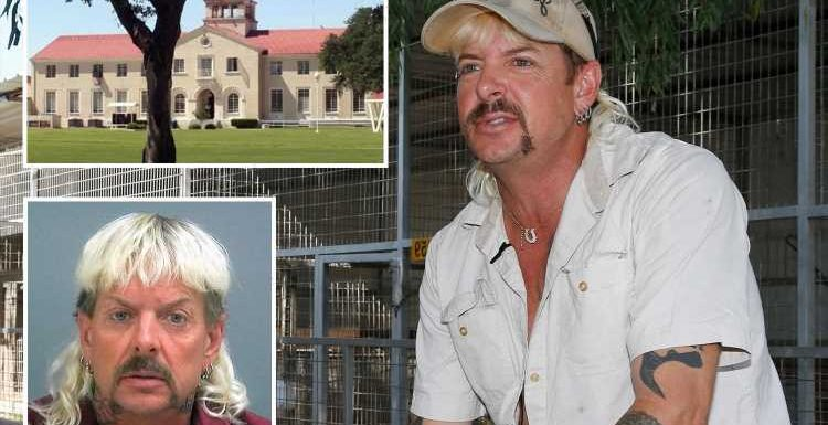 Furious Joe Exotic claims he's been 'KIDNAPPED' as he demands he's released from prison in new audio