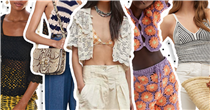 Give your outfits a retro twist with these summery crochet tops