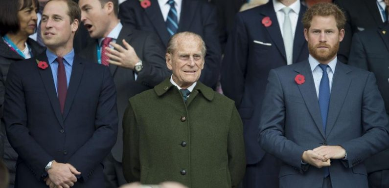 Harry & William walking apart at Duke's funeral shows 'really deep rift' & is 'lost opportunity' to fix relationship