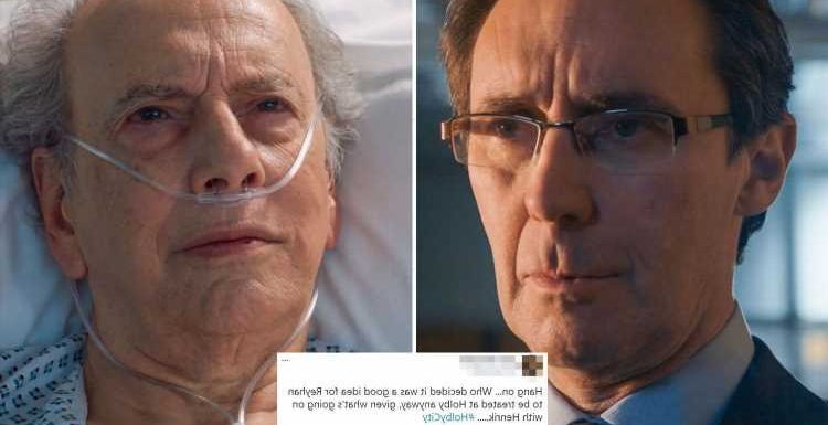 Holby City fans call out MAJOR blunder in Reyhan Shah's liver transplant operation