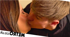 Hollyoaks teenager Sid and teacher Courtney kiss in shocking scenes