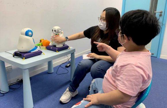 Hong Kong robots help autistic children boost social skills