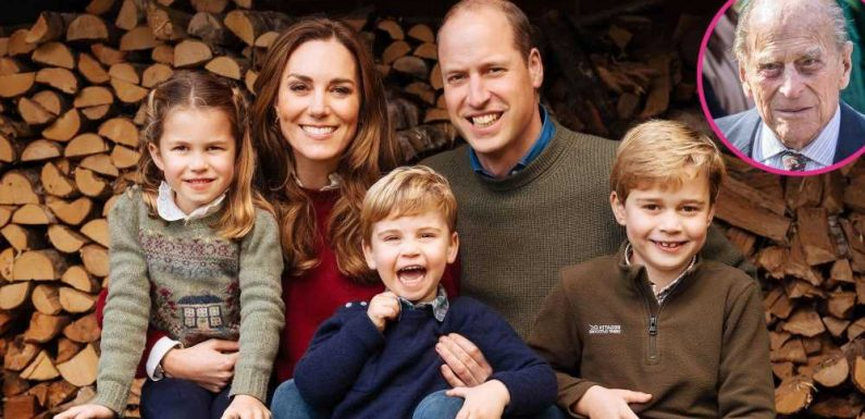 How William and Kate Are Helping Their Kids Cope With Philip's Death