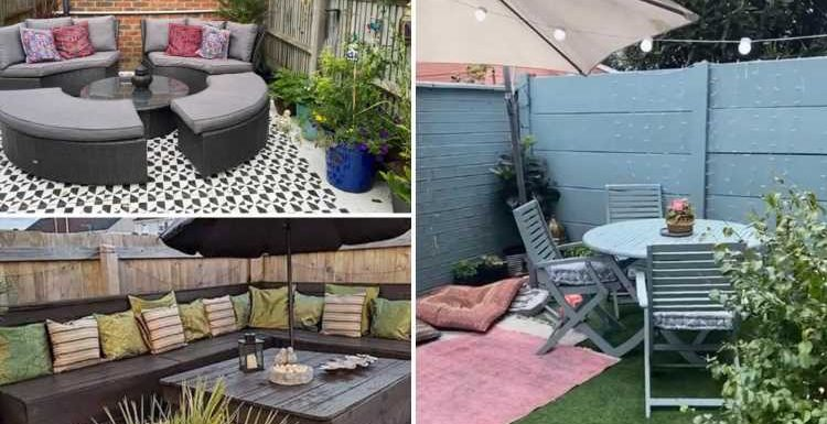 How to give your old garden furniture a total revamp for a TENNER – all you need is some tester paint pots
