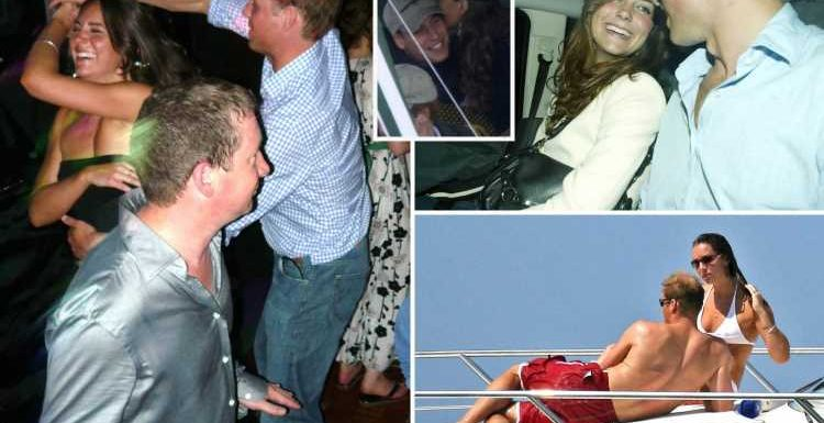 Inside Kate Middleton & William's wild dating days ahead of 10th wedding anniversary – with Ibiza trips, clubbing & PDAs