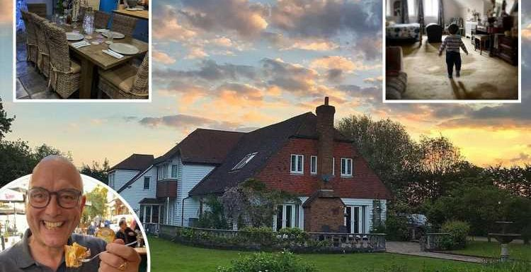 Inside MasterChef star Gregg Wallace's incredible £1m Kent cottage ahead of show final tonight