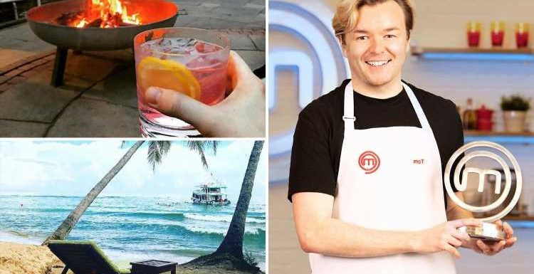 Inside MasterChef winner Tom Rhodes' glam life off-camera with exotic holidays & alfresco dinners at his Newcastle home