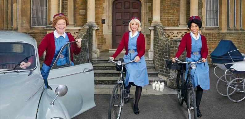 Is Call The Midwife's Nonnatus House a real place and where is Poplar?