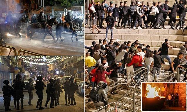Israeli police arrest dozens in night of chaos in Jerusalem