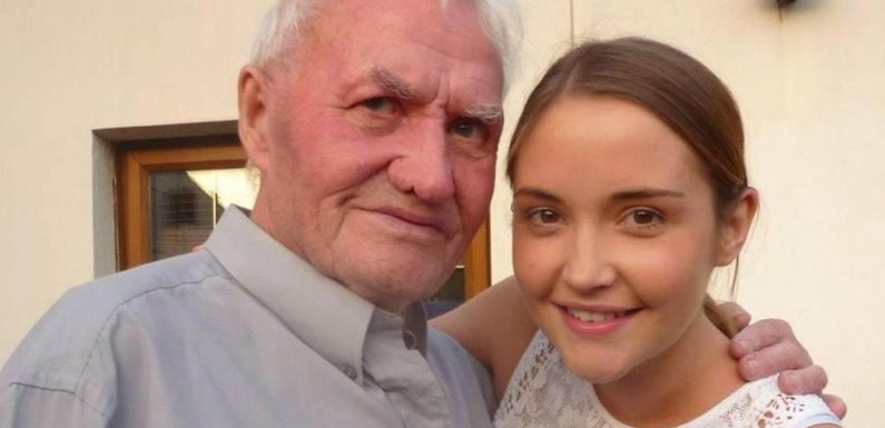 Jacqueline Jossa heartbroken as her beloved grandpa dies saying she will 'sing my heart out' for him