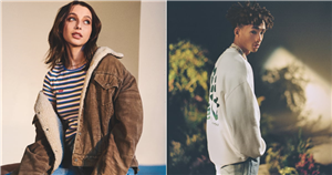 "Jaden Smith and Emma Chamberlain Work With Levi's to Reduce Our Carbon Footprint: ""It's Cool to Thrift"""