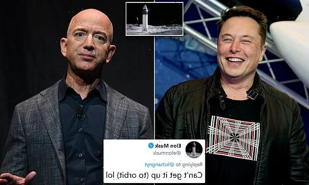 Jeff Bezos' Blue Origin challenges NASA's contract with Musk's SpaceX