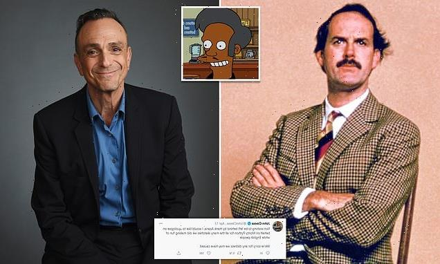 John Cleese issues mock apology after Apu actor Hank Azaria said sorry