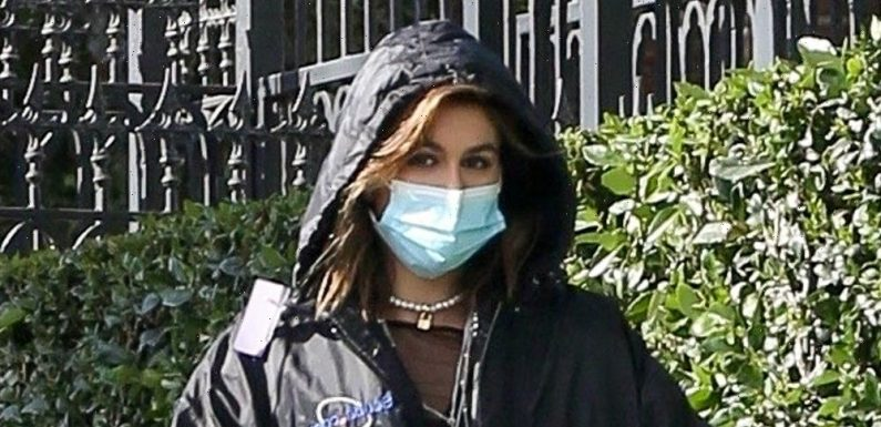 Kaia Gerber Starts Filming for 'American Horror Story' Season 10 – See the Set Photos!