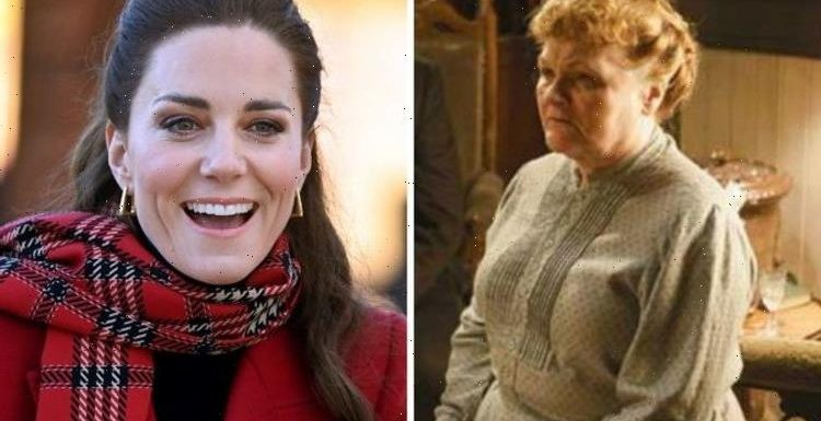 Kate Middleton causes chaos on Downton Abbey set 'Not allowed in my kitchen!'