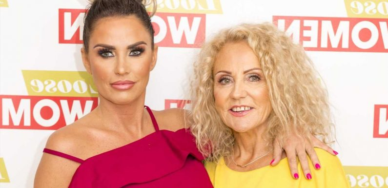 Katie Price vows to care for her mum 'at the end' as her incurable lung condition is 'slowing her down'