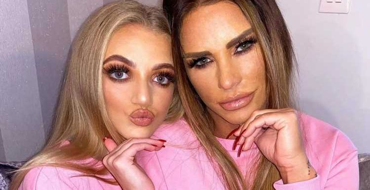 Katie Price's daughter Princess claims she'd NEVER have surgery 'after seeing what it's done to her mum'