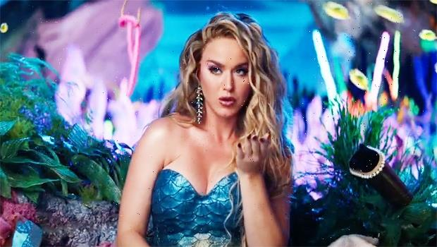 Katy Perry Is A Sexy Mermaid In New Vegas Resort Commercial With Celine Dion & Carrie Underwood