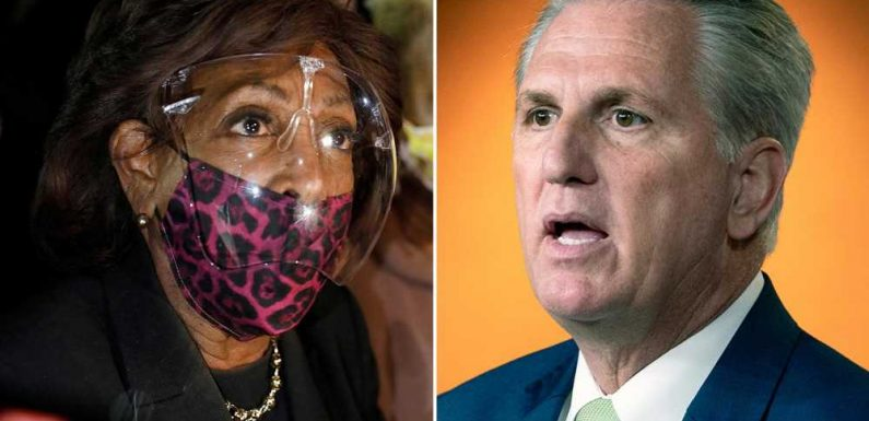 Kevin McCarthy demands Pelosi act on Maxine Waters' 'dangerous rhetoric'