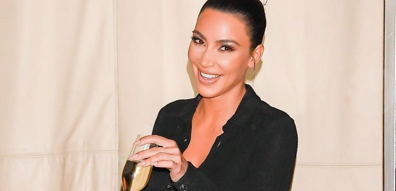 Kim Kardashian Takes TikTok Dance Lessons From Addison Rae — Watch!
