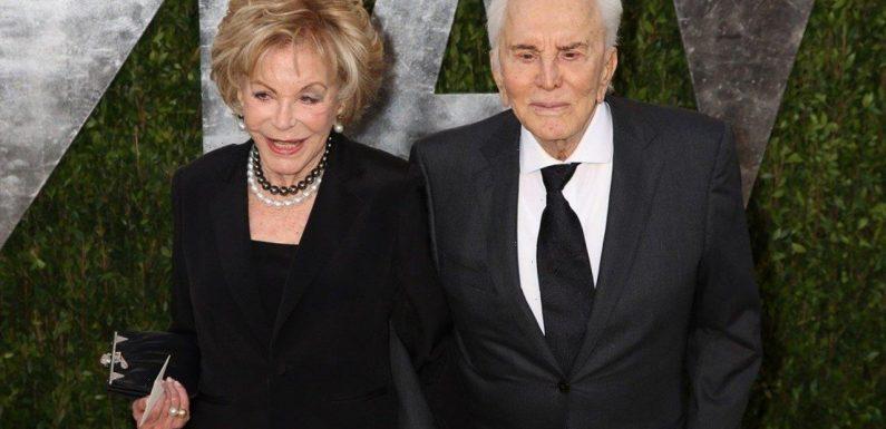 Kirk Douglas' Widow Anne Buydens Dies 'Peacefully' Six Days After 102nd Birthday
