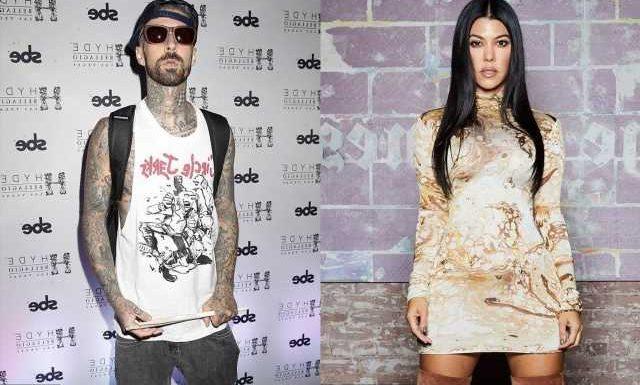 Kourtney Kardashian and Travis Barker Have Racy Exchange on His Suggestive Post